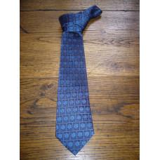 Cravate en soie - coloris bleu indigo