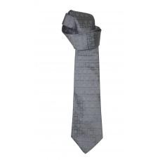 Cravate en soie - coloris gris