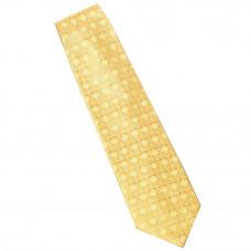 Cravate en soie - coloris jaune
