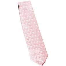 Cravate en soie - coloris rose