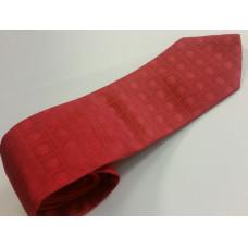 Cravate en soie - coloris rouge