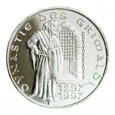 1997 - 100 F - Dynastie des Grimaldi