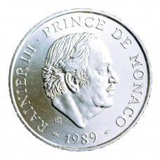 1989 - 100 F Prince Rainier III