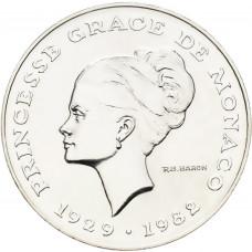 1982 - 10 F Essai Argent Princesse Grace