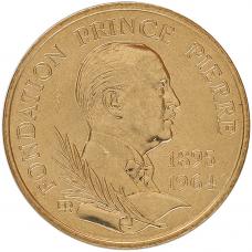 1989 - 10 F Fondation Prince Pierre