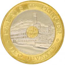 1992 - 20 F bicolore Palais Princier