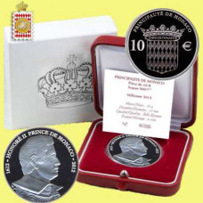 2012 - Coffret 10 € BE - Honoré II