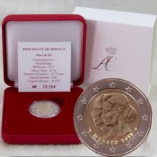 2011 - Coffret  2 € BU - Mariage Princier