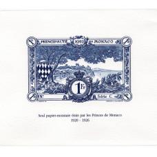 Épreuves d'Artiste «papier-monnaie» - bleu