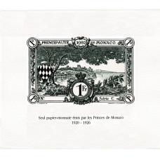 Épreuves d'Artiste «papier-monnaie» - vert